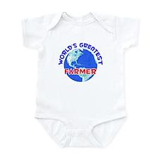 World's Greatest Farmer (E) Infant Bodysuit