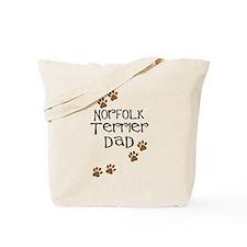 Norfolk Terrier Dad Tote Bag