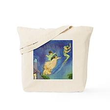 PETER PAN, JOHN & WENDY FLY Tote Bag