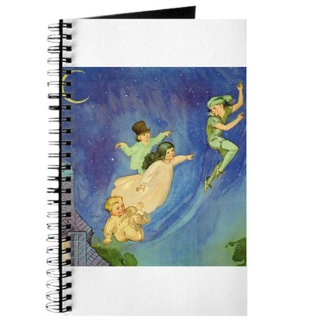 PETER PAN, JOHN & WENDY FLY Journal