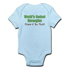 World's Coolest Norwegian Infant Bodysuit