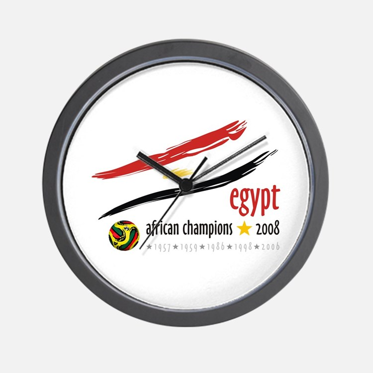 Egypt African Cup of Nations 2008 Wall Clock