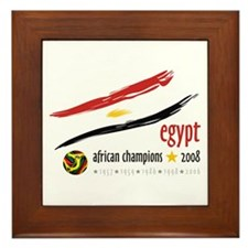 Egypt African Cup of Nations 2008 Framed Tile