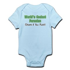 World's Coolest Peruvian Infant Bodysuit