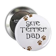 "Skye Terrier Dad 2.25"" Button (10 pack)"
