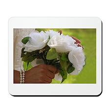 Wedding Bouquet Photo Mousepad