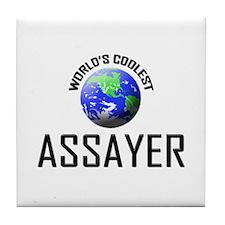 World's Coolest ASSAYER Tile Coaster