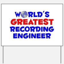 World's Greatest Recor.. (A) Yard Sign