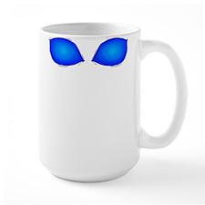 Alien Blue Eyes Mug
