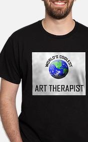 World's Coolest ART THERAPIST T-Shirt