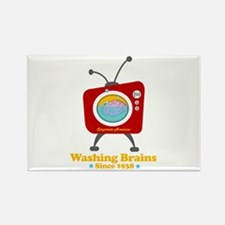 Washing Brains - Since 1938 Rectangle Magnet