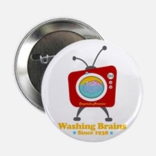 "Washing Brains - Since 1938 2.25"" Button"
