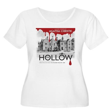The Hollow Women's Plus Size Scoop Neck T-Shirt