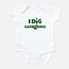 I Dig Gardening Infant Bodysuit
