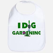 I Dig Gardening Bib