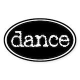 Dance Bumper Stickers