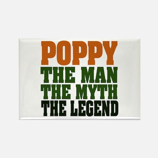 Poppy - The Legend Rectangle Magnet