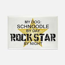Schnoodle RockStar Rectangle Magnet