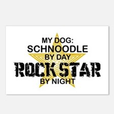 Schnoodle RockStar Postcards (Package of 8)