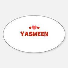 Yasmeen Oval Decal