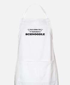 Schnoodle You'd Drink Too BBQ Apron