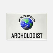 World's Coolest ARCHOLOGIST Rectangle Magnet