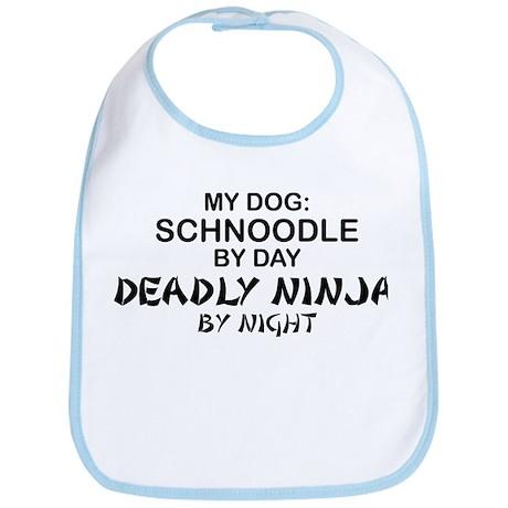 Schnoodle Deadly Ninja Bib