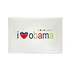 ::: I Heart Obama ::: Rectangle Magnet
