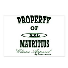 Property Of Mauritius Classic Postcards (Package o