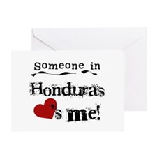 Honduras Loves Me Greeting Card
