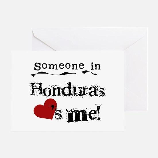 Honduras Loves Me Greeting Card