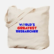 World's Greatest Resea.. (A) Tote Bag