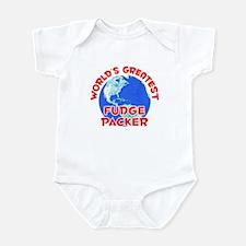 World's Greatest Fudge.. (F) Infant Bodysuit