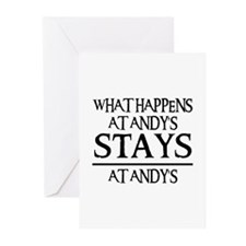 STAYS AT ANDY'S Greeting Cards (Pk of 10)