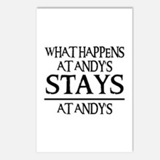 STAYS AT ANDY'S Postcards (Package of 8)