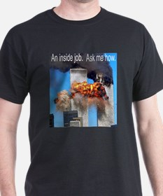 """911-An Inside Job"" T-Shirt"