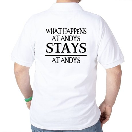 STAYS AT ANDY'S Golf Shirt