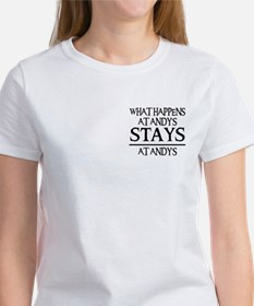 STAYS AT ANDY'S Women's T-Shirt