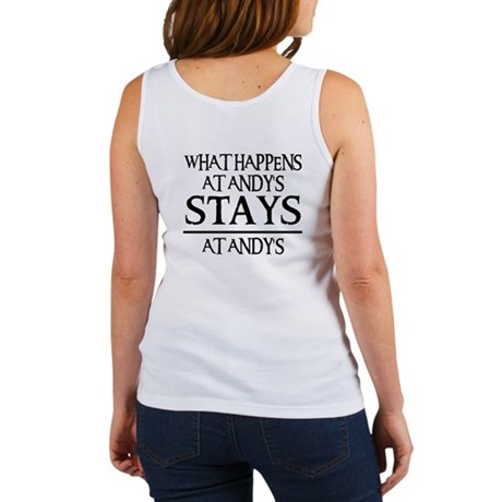 STAYS AT ANDY'S Women's Tank Top
