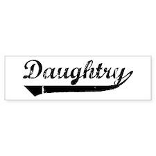Daughtry (vintage) Bumper Bumper Sticker