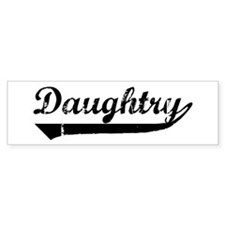 Daughtry (vintage) Bumper Stickers