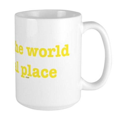 Virtual World Large Mug