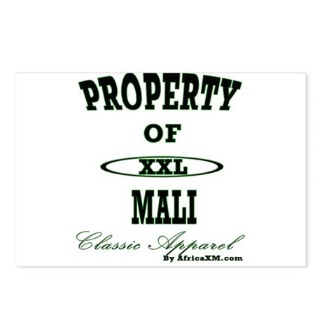 Property Of Mali Classic Postcards (Package of 8)