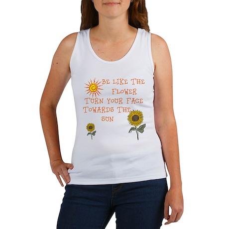 Be Like The Flower Women's Tank Top