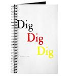 Dig Dig Dig (D20) Journal