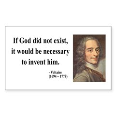 Voltaire 4 Rectangle Decal