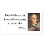 Voltaire 4 Rectangle Sticker
