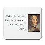 Voltaire 4 Mousepad