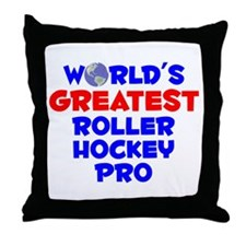 World's Greatest Rolle.. (A) Throw Pillow
