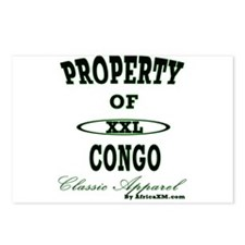 Property Of Congo Classic Postcards (Package of 8)